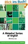 Historical Syntax of English (Edinbur...