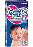 Mamy Poko Large Size Baby Diapers (34 Count)