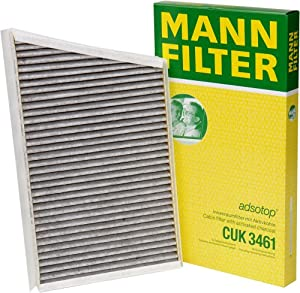 Mann-filter Cuk 3461 Cabin Filter With Activated Charcoal For Select Mercedes-benz Models from Mann-Filter
