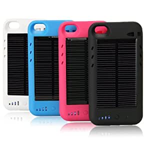 Amazon Com Iphone 4s Solar Powered Battery Charger Case