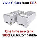 New maintenance ink tank compatible with epson stylus pro 7900 7890 7910- A set of 2 Tanks
