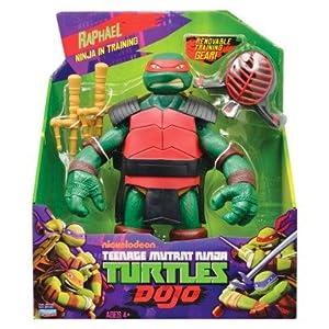 Stadlbauer-Teenage Mutant Ninja Turtles Dojo Figure Raphael Mobile 28cm with Removable Training Gear