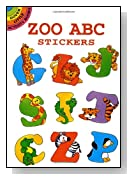 Zoo ABC Stickers (Dover Little Activity Books)