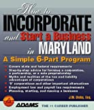 How to Incorporate and Start a Business in Maryland