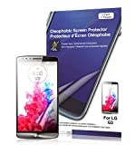 Green Onions Supply Crystal Oleophobic Screen Protector for LG G3 (Pack of 2)