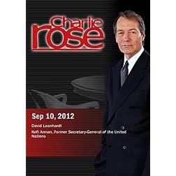 Charlie Rose - David Leonhardt / Kofi Annan (September 10, 2012)