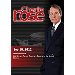 Charlie Rose - David Leonhardt / Kofi Annan (September 10, 2012)