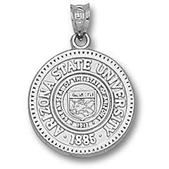 Arizona State University Seal - 14K Gold by Logo Art