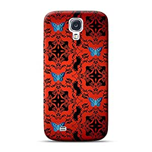 INKIF Warrior Abstract Designer Case Printed Mobile Back Cover for Samsung Galaxy S4 (Red)