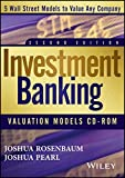 img - for Investment Banking Valuation Models CD by Joshua Rosenbaum (2013-09-30) book / textbook / text book
