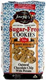 Joseph's Lite Cookies Sugar Free Oatmeal Chocolate Chip Cookies with Pecans, 11 oz bag