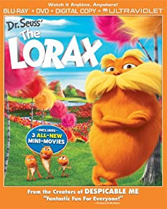 Dr. Seuss' The Lorax (Blu-ray + DVD + Digital Copy + UltraViolet)