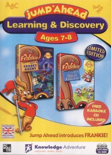 Jump Ahead Learning & Discovery Pack: Ages 7-8 (Frankie Secret Agent & Frankie World Explorer)