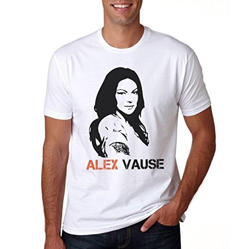 Alex Vause Stencil Portrait Orange Is The New Black Small Uomini T-Shirt