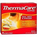 Thermacare Neck, Shoulder & Wrist HeatWraps, 8 Hour-3ct