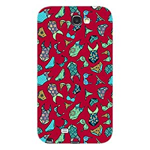 EYP Inners Pattern Back Cover Case for Samsung Note 2