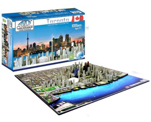 Cheap 4D Cityscape 4D Toronto Skyline Time Puzzle (B0041O41XS)