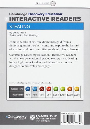 Stealing High Beginning Book with Online Access (Cambridge Discovery Interactiv)