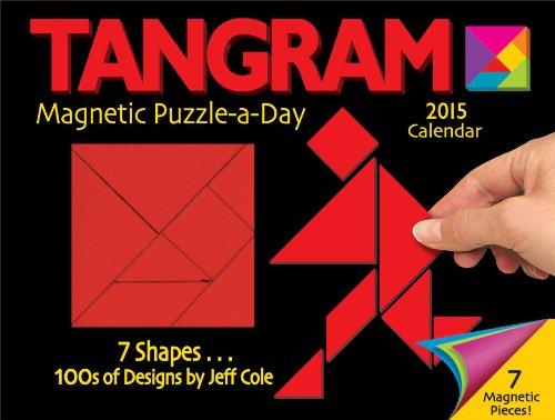 Tangram Magnet Puzzle-a-Day 2015 Calendar