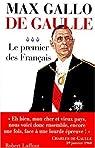 De Gaulle, tome 3 : Le premier des fran�ais par Gallo