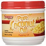 Snappy Popcorn Supplies, Colored Coconut Oil, 16 Oz (Tamaño: Pack of 1)
