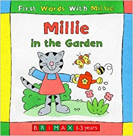 millie in the garden first words with millie peter curry 9781858545073 books. Black Bedroom Furniture Sets. Home Design Ideas