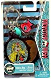 Monster High Freakey Ring and Mirror Keychain - Lagoona Blue and Neptuna