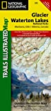 Glacier & Waterton Lakes National Park, MT - Trails Illustrated Map #215 (National Geographic Maps: Trails Illustrated)