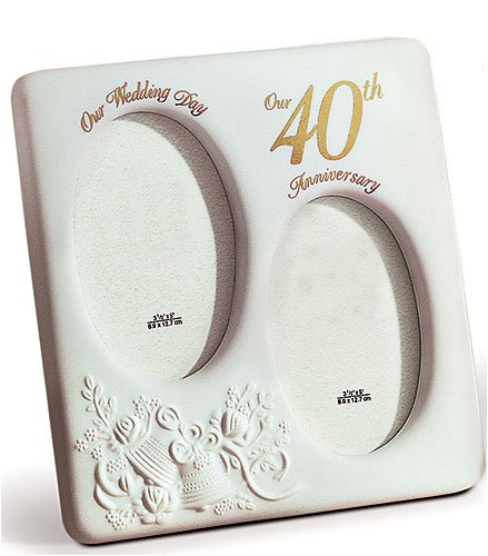 40th Wedding Anniversary Gift Jewelry : ... Our 40th Anniversary Frame40th Wedding Anniversary Gift, GL4788