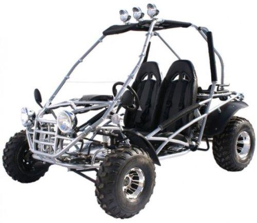 BMS Power Kart 150 SILVER Gas 4 Stroke 149cc Buggy Go Kart