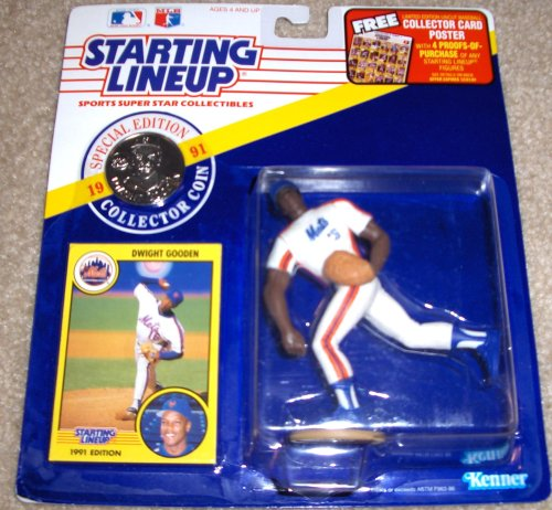 Dwight Gooden 1991 MLB Starting Lineup