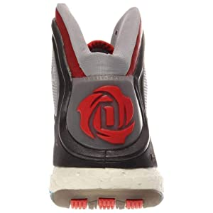 separation shoes a0ad0 44c1c adidas Performance D Rose 5 Boost J Kids Basketball Shoe (Big Kid),  ScarletSolar Blue, ...