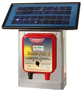 Parmak DF-SP-LI Solar Pak 6 Low Impedance 6-Volt Battery-Operated 25-Mile-Range... by Parmak