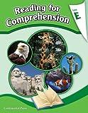 Reading Comprehension Workbook: Reading for Comprehension, Level E - 5th Grade