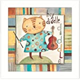 "The Craft Room The Craft Room BER810-712W Hey Diddle Diddle, 12""x12"""