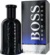 Hugo Boss Bottled Night Eau de Toilette Spray for Him 200 ml