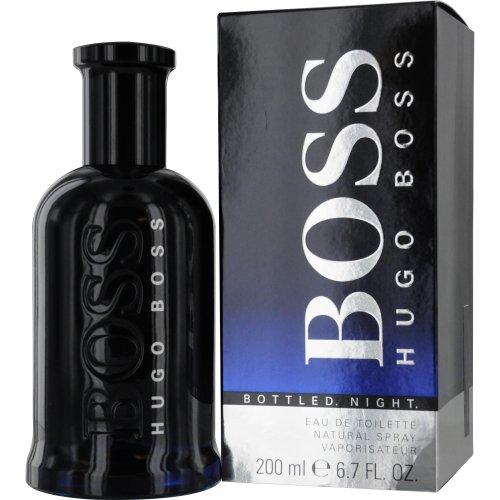Hugo Boss Bottled Night Eau de Toilette Spray for Men, 6.7 Ounce