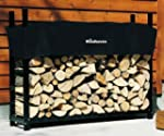 The Woodhaven 5-ft Firewood Log Rack...