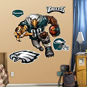NFL Philadelphia Eagles Extreme Eagle Wall Graphics by Fathead