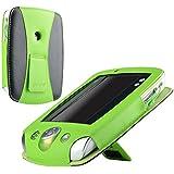 eForCity Leather Case for Leapfrog LeapPad 2, Green/Black (PLPFLEAPLC01)