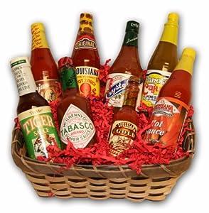 Nolacajun Hot Sauce Gift Basket from NolaCajun