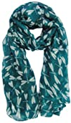 Womens Dragonfly Print Fashion Scarf  Large and Soft