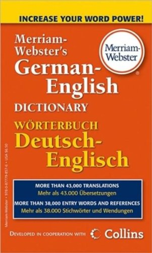Merriam-Webster's German-English Dictionary (German Edition)