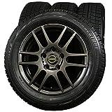 15インチ 4本セット スタッドレスタイヤ&ホイール ブリヂストン(BRIDGESTONE) BLIZZAK REVO GZ 185/60R15 エーテック