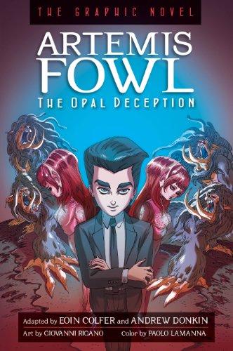 Artemis Fowl the Opal Deception Graphic Novel
