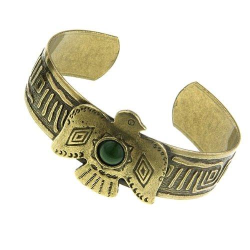 1928 Jewelry T.R.U. Soaring Eagle Burnished Brass …