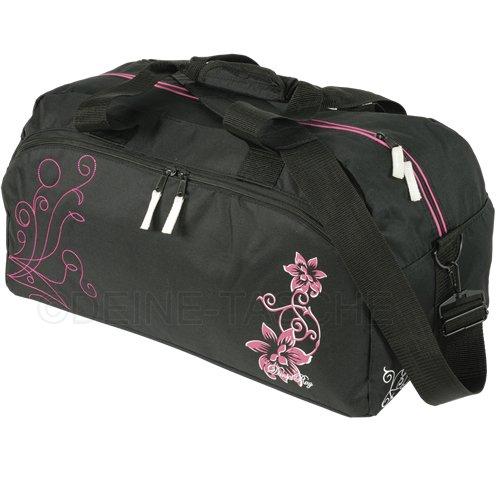 Fitness Sporttasche // HIBISKUS FLOWER // Tasche
