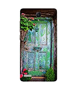 Blue Door Xiaomi Redmi Note Printed Back Cover