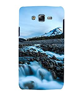 printtech Nature View Waterfall Back Case Cover for Samsung Galaxy J1::Samsung Galaxy J1 J100F