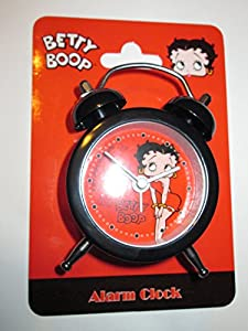 Betty Boop- Mini Travel Alarm Clock